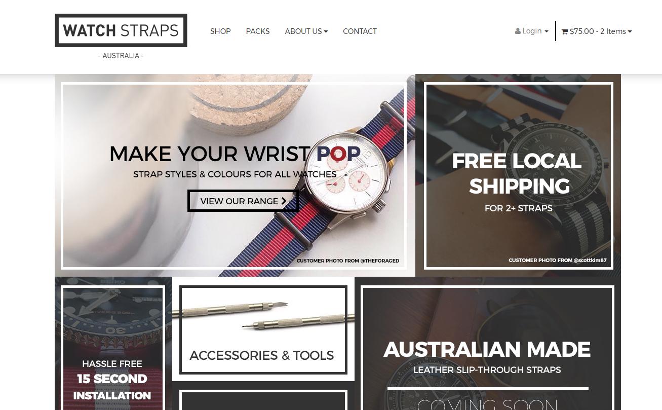 Watch Straps Australia